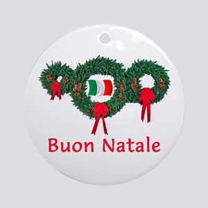 Italy Christmas 2 Ornament (Round)