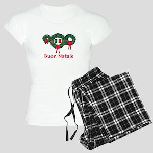 Italy Christmas 2 Women's Light Pajamas