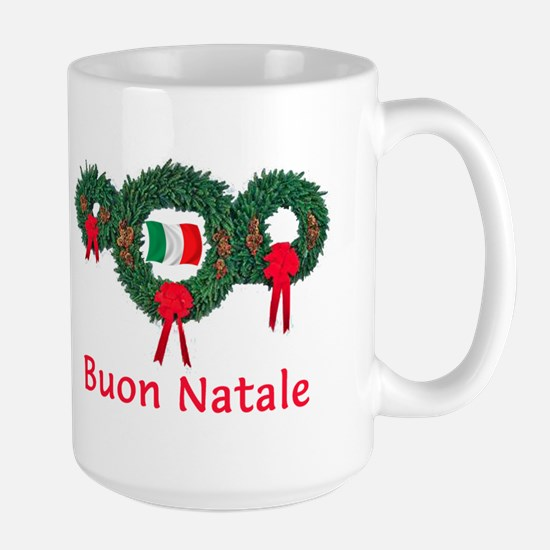 Italy Christmas 2 Large Mug
