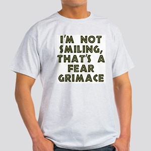 Grimmace 2-Sided Ash Grey T-Shirt