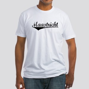 Maastricht, Aged, Fitted T-Shirt
