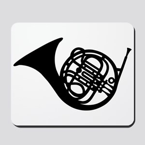 Bugle french horn Mousepad