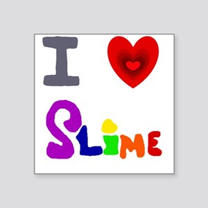 I love Slime Art Sticker