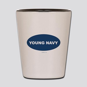 Young Navy Shot Glass