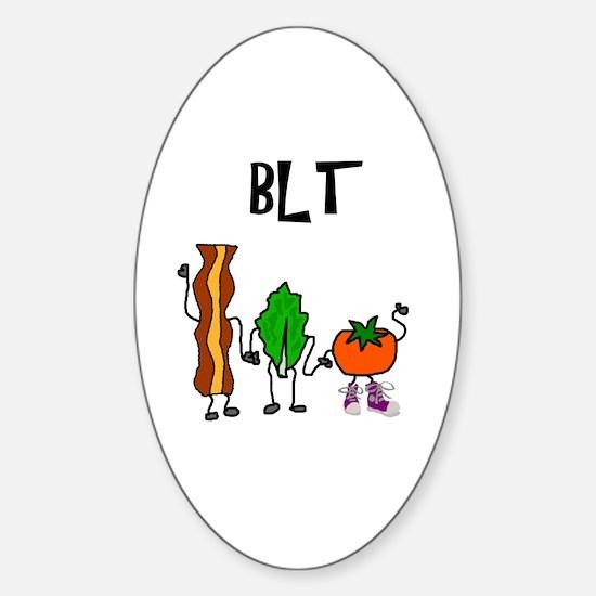 Cute Blt Sticker (Oval)