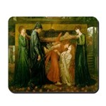 Dante's Dream of Beatrice Mousepad