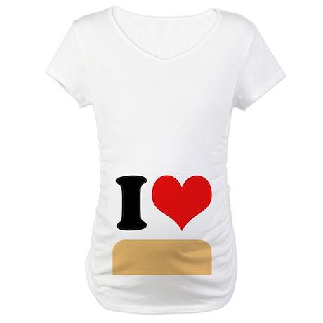 I heart twinkies Maternity T-Shirt