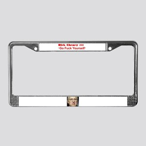 Dick Cheney for President 2008 License Plate Frame