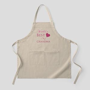 World's Best Grandma (Heart) Apron