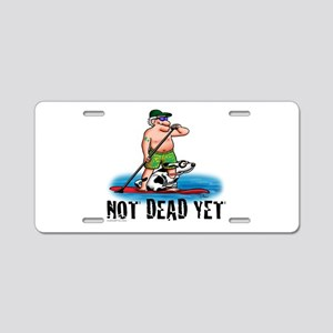 Paddle Board Grampy Aluminum License Plate