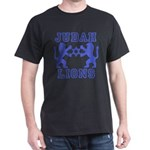 18 Lions of Judah Black T-Shirt