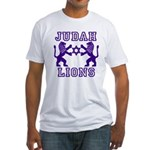 18 Lions of Judah Fitted T-Shirt
