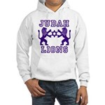 18 Lions of Judah Hooded Sweatshirt