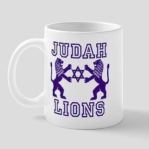 18 Lions of Judah Mug