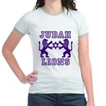 18 Lions of Judah Jr. Ringer T-Shirt