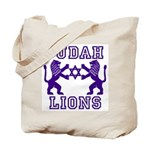 18 Lions of Judah Tote Bag