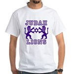 18 Lions of Judah White T-Shirt