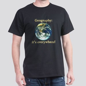 Geography Dark T-Shirt