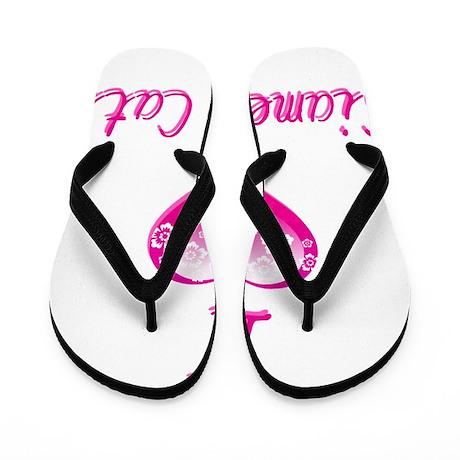 I Love/Heart Siamese Cats Flip Flops