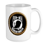 POW/MIA WARRIOR Large Mug