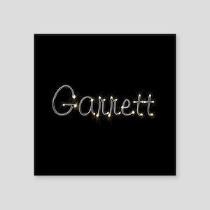 "Garrett Spark Square Sticker 3"" x 3"""