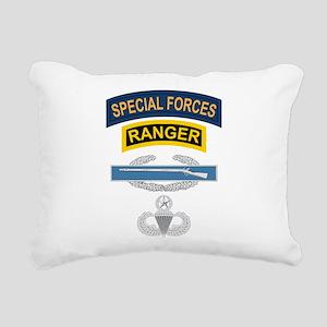 SF Ranger CIB Airborne Master Rectangular Canvas P