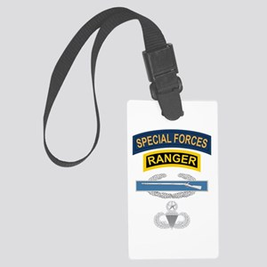 SF Ranger CIB Airborne Master Large Luggage Tag