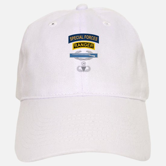 SF Ranger CIB Airborne Master Baseball Baseball Cap