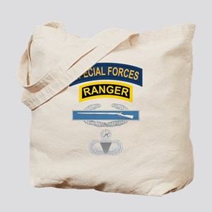SF Ranger CIB Airborne Master Tote Bag