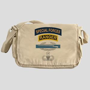 SF Ranger CIB Airborne Master Messenger Bag