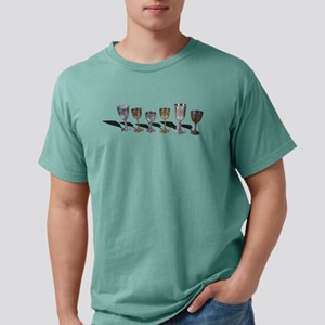 A variety of wine chalic Mens Comfort Colors Shirt