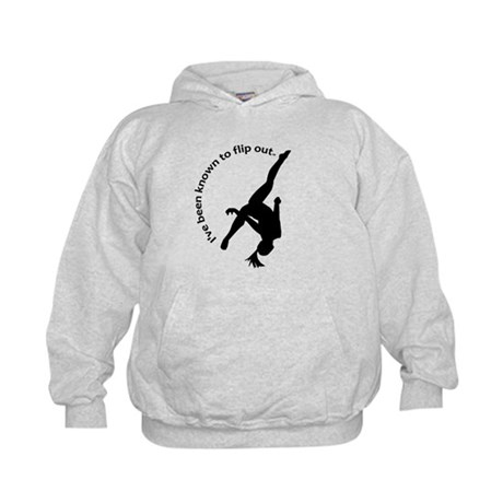 I've been known to flip out. Kids Hoodie
