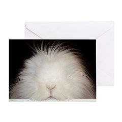 Bunny Poppin' In Greeting Card