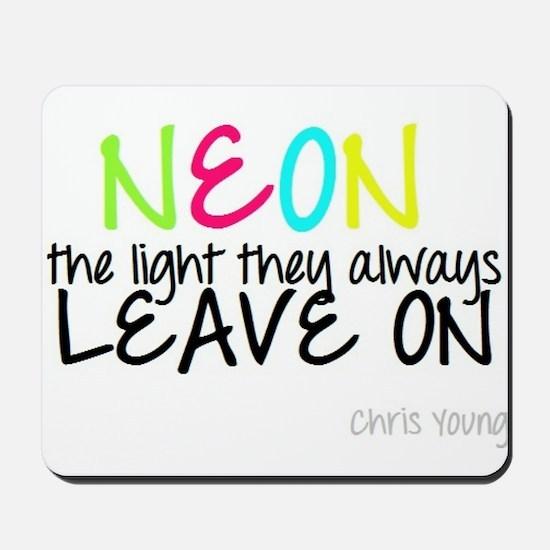 Neon Mousepad