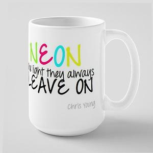 Neon Large Mug
