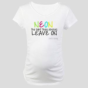 Neon Maternity T-Shirt