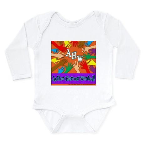 Kindness Beyond Colors Long Sleeve Infant Bodysuit