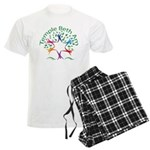 Temple Beth Am Religious School Logo Pajamas