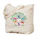 Temple Beth Am Religious School Logo Tote Bag
