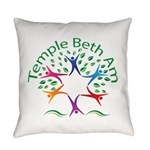 Temple Beth Am Religious School Everyday Pillow