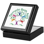Temple Beth Am Religious School Logo Keepsake Box
