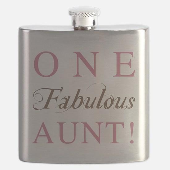 One Fabulous Aunt Flask