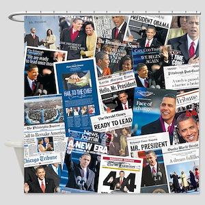 Obama Inauguration Shower Curtain