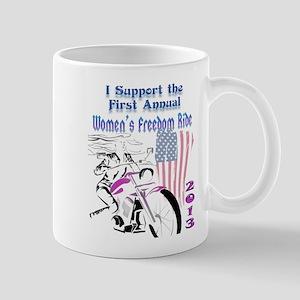 Support the Women's Freedom Ride Mug