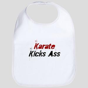 Karate Kicks Ass Bib