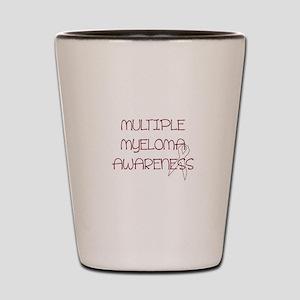 Multiple Myeloma Awareness Shot Glass