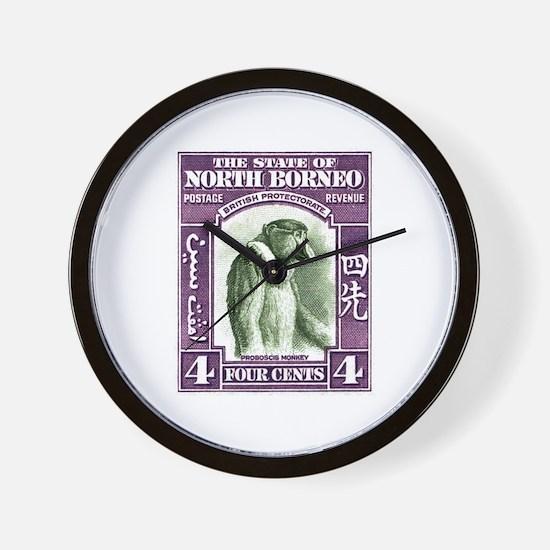 1939 North Borneo Proboscis Monkey Postage Stamp W