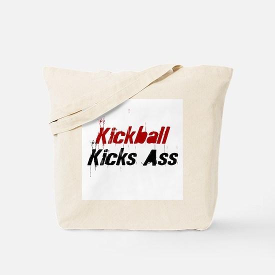 Kickball Kicks Ass Tote Bag