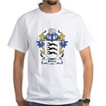 Biscoe Coat of Arms White T-Shirt