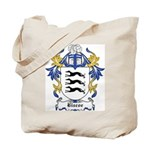 Biscoe Coat of Arms Tote Bag
